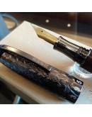 老山羊葛瑪蘭鋼筆小葉紫檀木 金沙書法鈦尖