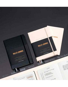 Bullet Journal® – Edition 2 | Hardcover Medium (A5), 145 × 210 mm,206 numbered pages, 120 g/m2 paper