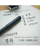 Kaweco PERKEO Calligraphy Set Blue (Free Testing)