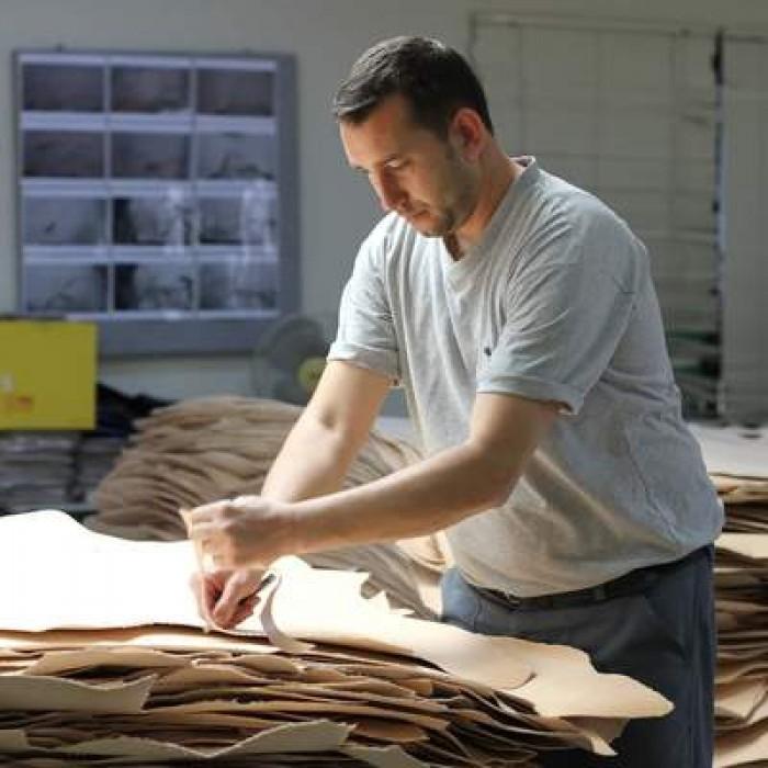 有關Galen Leather植鞣革如何製造?
