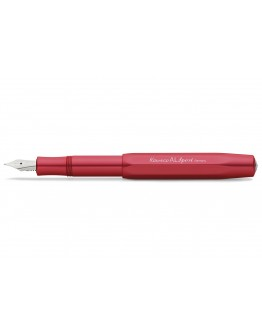 Kaweco AL SPORT Fountain Pen Deep Red
