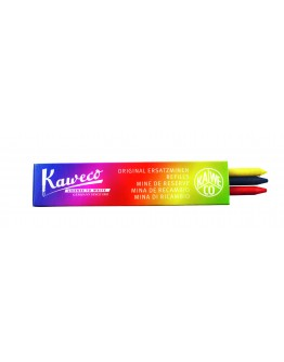Kaweco Pencil Leads 5.6mm x 80mm - Red, Blue & Yellow (3 pack)